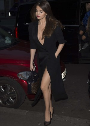 Selena Gomez in Black Dress -31
