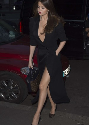 Selena Gomez in Black Dress -34