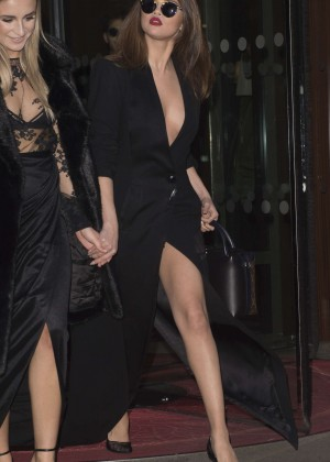 Selena Gomez in Black Dress -37