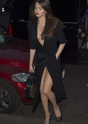 Selena Gomez in Black Dress -39