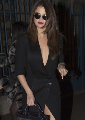 Selena Gomez in Black Dress -40