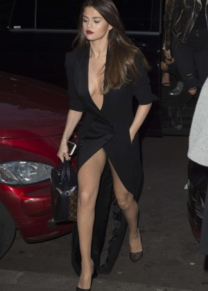 Selena Gomez in Black Dress -46