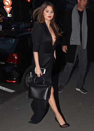 Selena Gomez in Black Dress -47