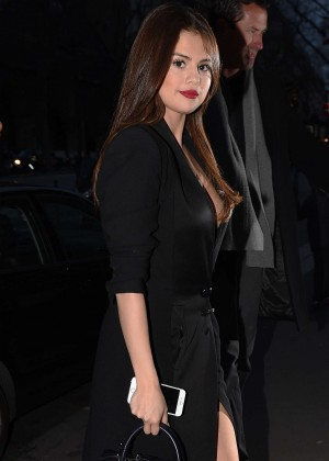 Selena Gomez in Black Dress -49