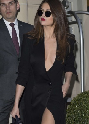 Selena Gomez in Black Dress -53