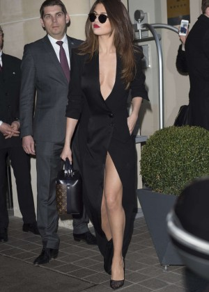 Selena Gomez in Black Dress -55