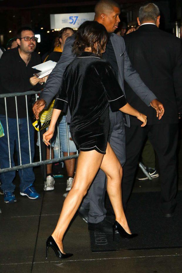 Selena Gomez in Black Shorts-04