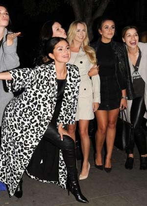 Selena Gomez in Leather -13