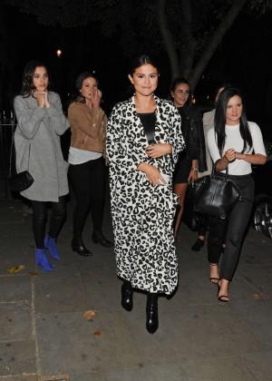 Selena Gomez in Leather -14