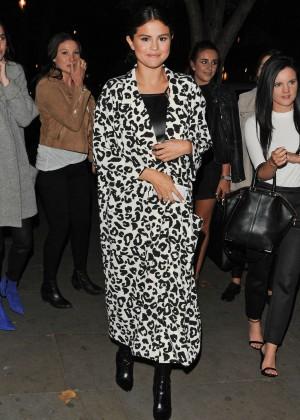 Selena Gomez in Leather -15