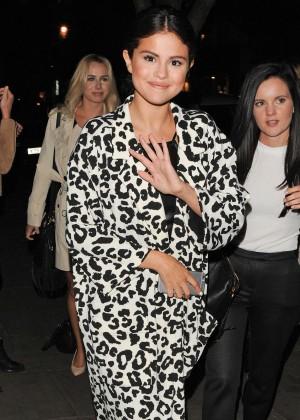 Selena Gomez in Leather -17