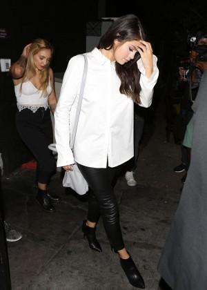 Selena Gomez Booty in Leather -01