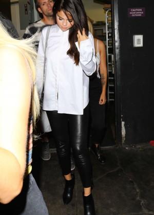Selena Gomez Booty in Leather -02