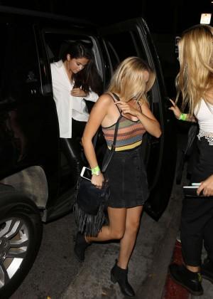Selena Gomez Booty in Leather -07