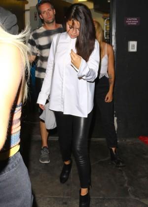 Selena Gomez Booty in Leather -08