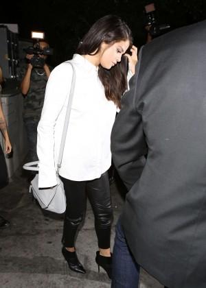 Selena Gomez Booty in Leather -14