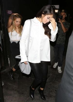Selena Gomez Booty in Leather -20
