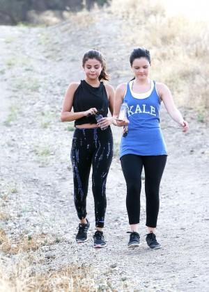 Selena Gomez Booty in Tights -43