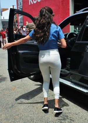 Selena Gomez Booty in Tights -08