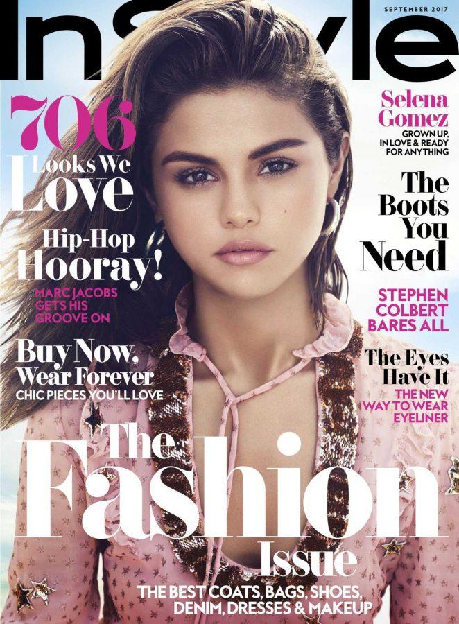 Selena Gomez: Instyle Magazine 2017 -02