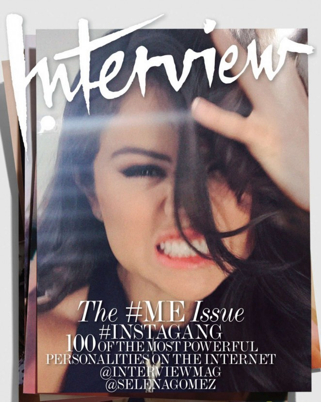 Selena Gomez - Interview Magazine Cover (September 2015)