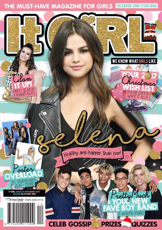 Selena Gomez - It GiRL Magazine (December 2017)