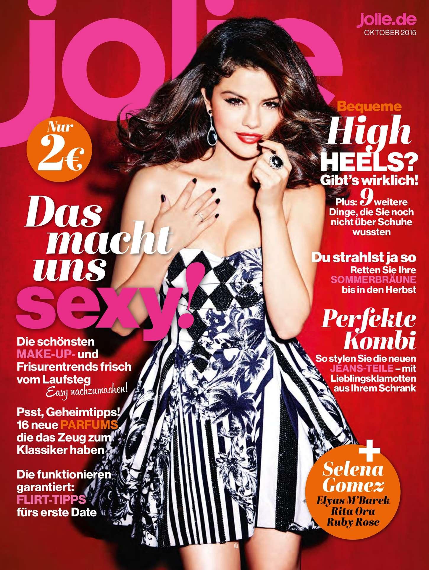 Jolie Magazine November 2017 Issue: Selena Gomez – Jolie Magazine (October 2015)