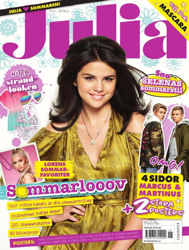 Selena Gomez - Julia Magazine (June 2018)