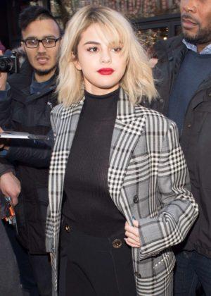 Selena Gomez - Leaves Capital Radio in London