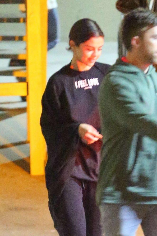 Selena Gomez - Leaves Church in Beverly Hills