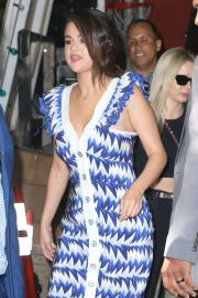 Selena Gomez - Leaves 'Live with Kelly and Ryan' in NYC