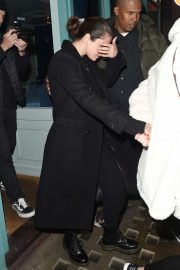 Selena Gomez - Leaves Y Ming Chinese Restaurant in London