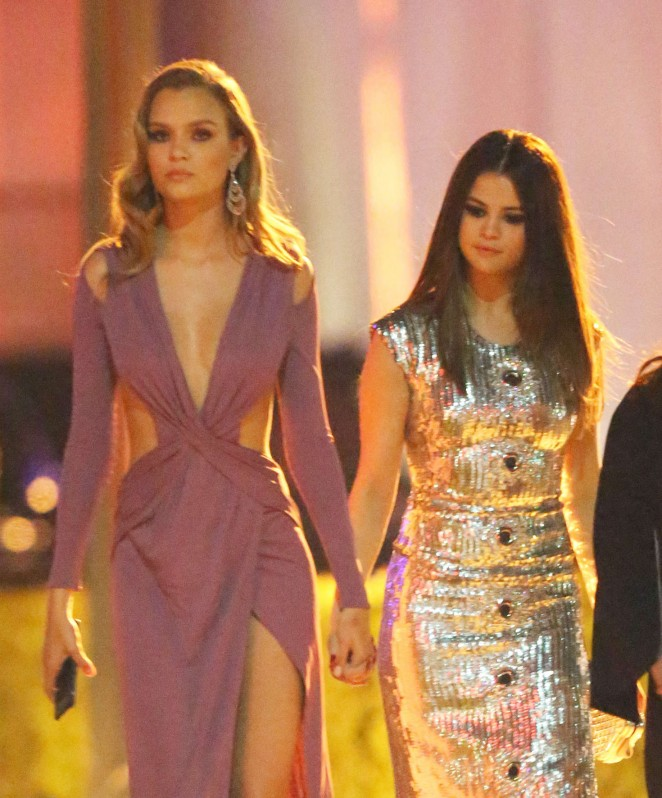 Selena Gomez - Leaving 2016 Vanity Fair Oscar Party in Beverly Hills