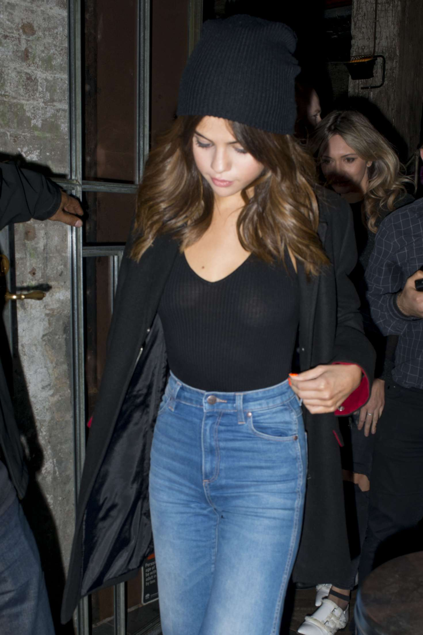Selena Gomez - Leaving a Chinese Restaurant in Sydney