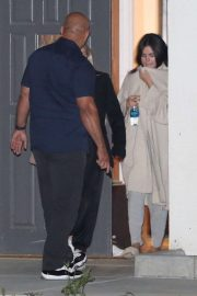Selena Gomez - Leaving Friend's House in Los Angeles