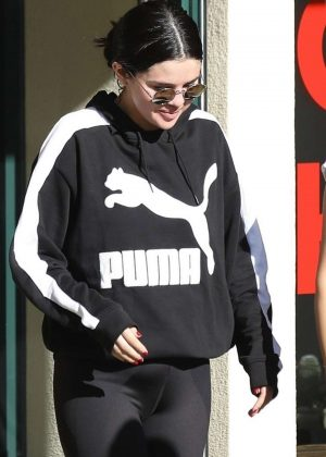 Selena Gomez - Leaving Pilates Session in Hollywood