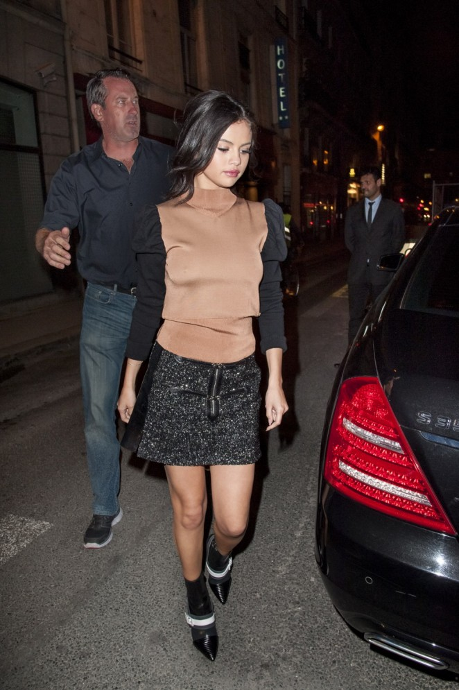 Spread Pictures / BACKGRID. Selena Gomez For a look that is at both times feminine and fall, do as the