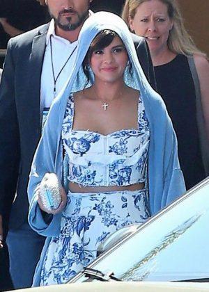 Selena Gomez - Leaving the 'Hotel Transylvania 3: Summer Vacation' Premiere in LA
