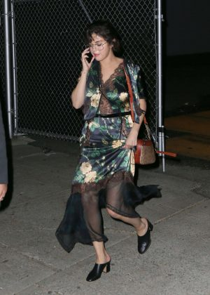 Selena Gomez - Leaving the Prada Event in NYC