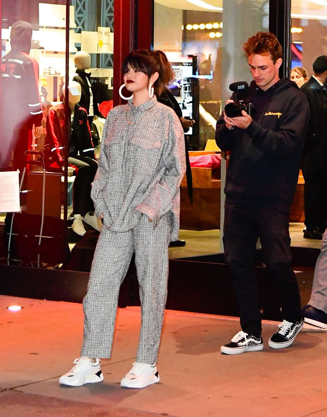 Selena Gomez 2020 : Selena Gomez – Leaving the Puma store in New York-01