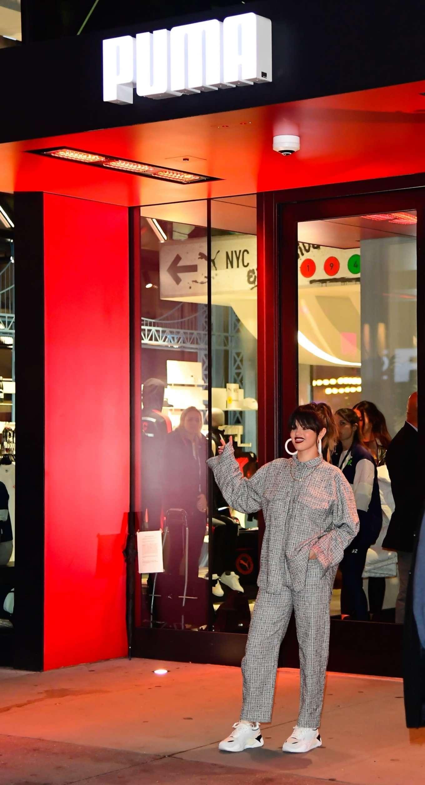 Selena Gomez 2020 : Selena Gomez – Leaving the Puma store in New York-06