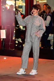 Selena Gomez - Leaving the Puma store in New York