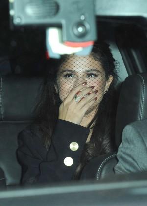 Selena Gomez: Leaving The Tonight Show -22