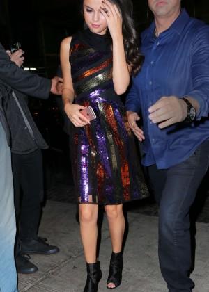 Selena Gomez: Leaving Watch What Happens Live -02
