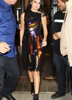 Selena Gomez: Leaving Watch What Happens Live -03