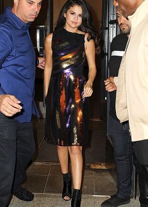 Selena Gomez: Leaving Watch What Happens Live -04