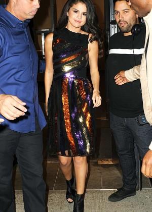 Selena Gomez: Leaving Watch What Happens Live -05
