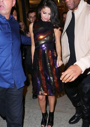 Selena Gomez: Leaving Watch What Happens Live -08