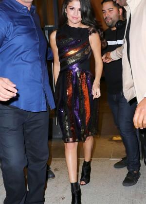 Selena Gomez: Leaving Watch What Happens Live -09