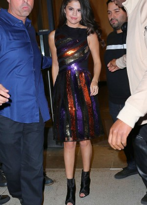 Selena Gomez: Leaving Watch What Happens Live -11